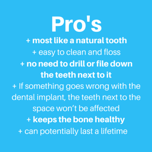 What Are The Pros And Cons Of Dental Implants Vs Bridges